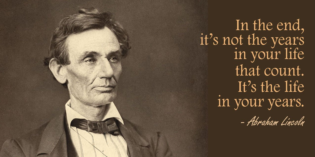 Quote of the Week – Abraham Lincoln