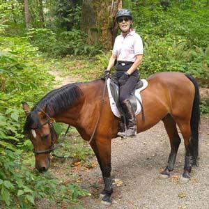 Rosemary Lyttleton loves Horses